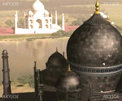 black taj mahal story akyjoe thumb White Taj Mahal and Black Taj Mahal Story